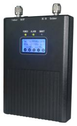 15dbm-30dbm GSM Industrial single band repeater with LCD